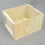 caja contrachapado