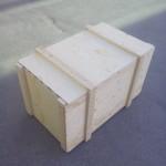 Caja contrachapado tapa